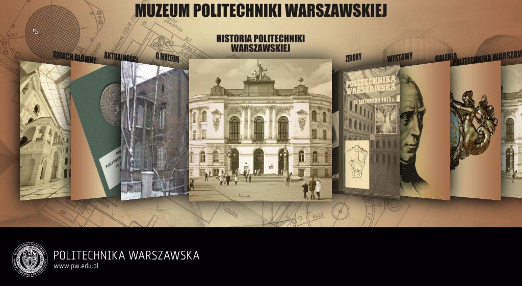 aplikacja dla muzeum politechniki warszawskiej