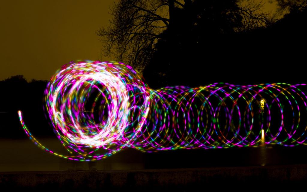 malowanie światłem LED pixelstick