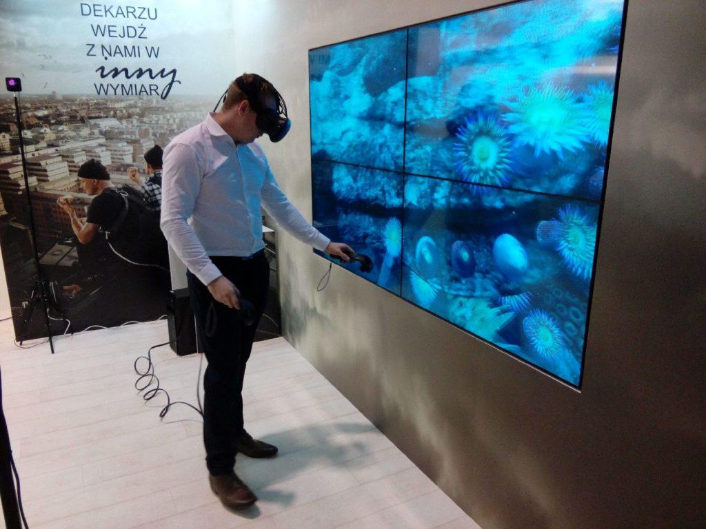 virtual reality na MTP